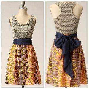 Anthropologie Dresses - Porridge Flight of the Bees Silk Dress